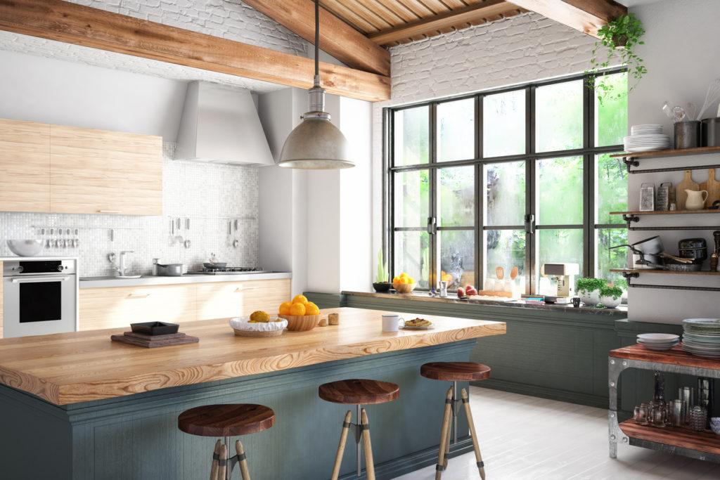 Kitchen Photo Credit: asbe (iStock).