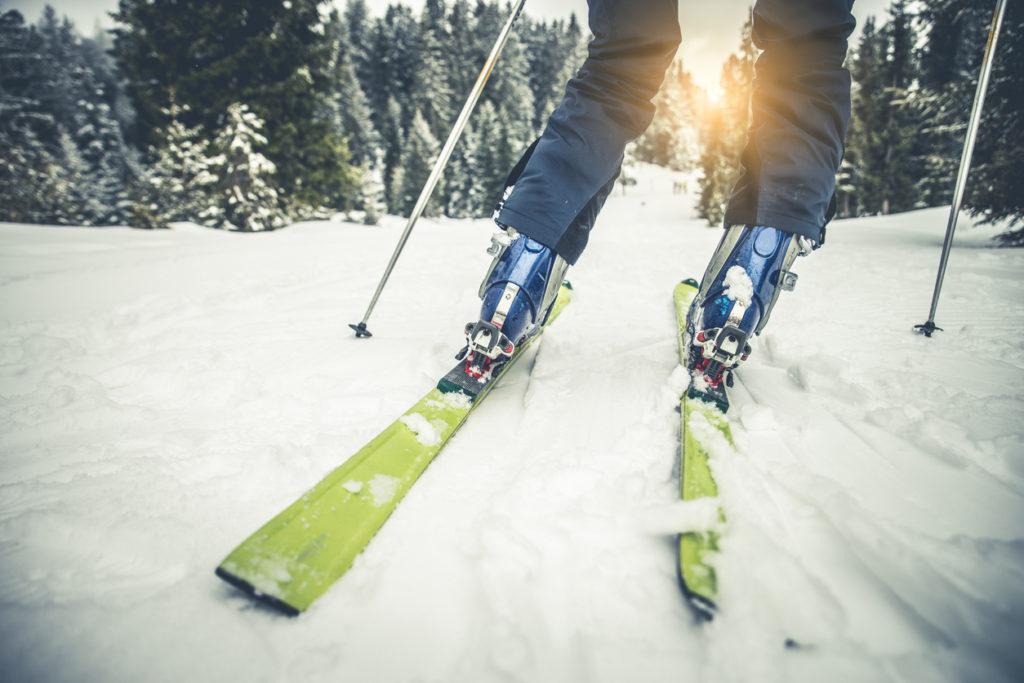 Ski Photo Credit: oneinchpunch (iStock).