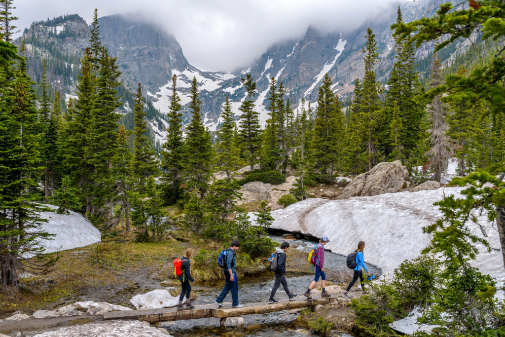 Hike Colorado Emerald Lake Estes Park Photo Credit: SeanXu (iStock).
