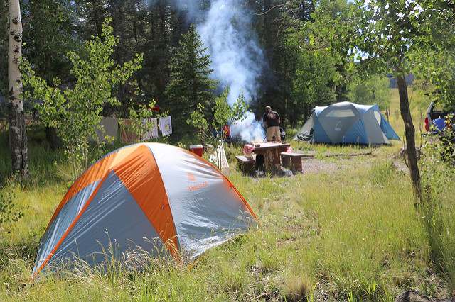 Camping Colorado Photo Credit: OakleyOriginals (Flickr).