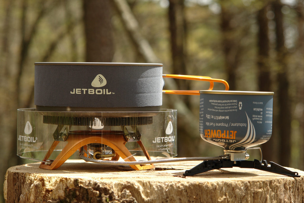 Jetboil Photo Credit: patchattack (Flickr).