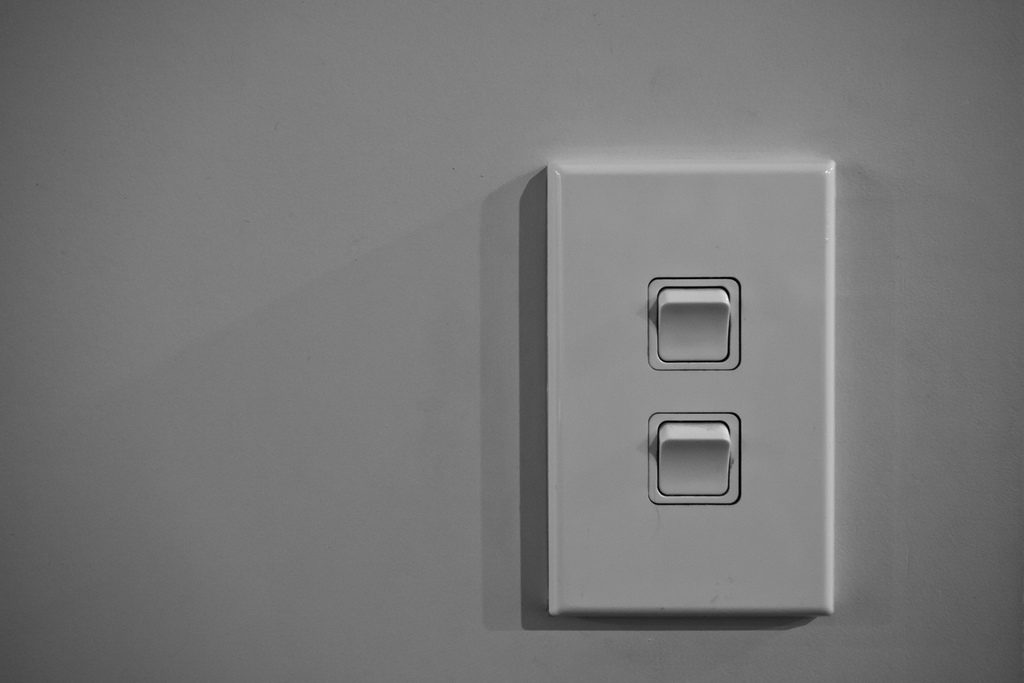 light switch Photo Credit: russellstreet (Flickr).