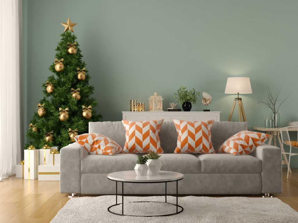 Living Room, Holidays, Photo Credit: hemul75 (iStock).