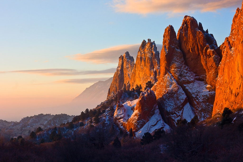 Colorado Springs, Garden of the Gods, Photo Credit: RondaKimbrow (iStock).