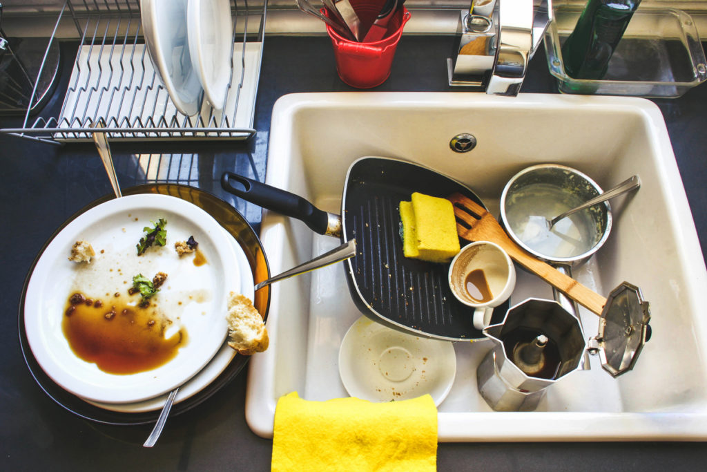 Dirty Dishes, Photo Credit: ikrents (iStock).