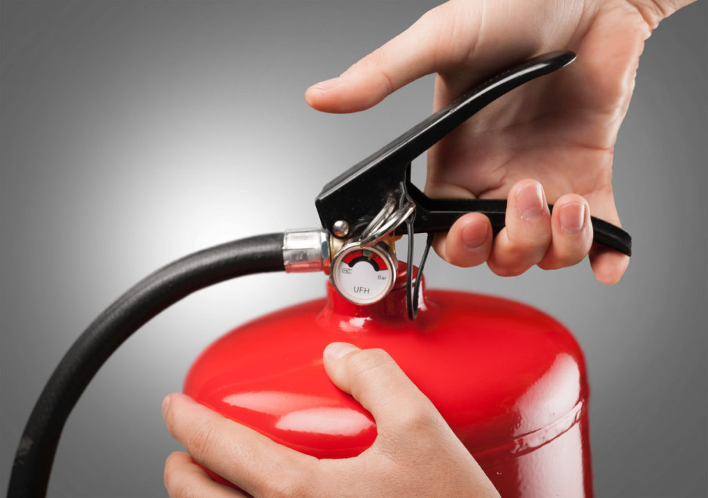 Fire Extinguisher Photo Credit: artisteer (iStock).