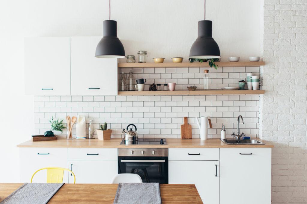 Kitchen Cabinets, Photo Credit: undrey (iStock).
