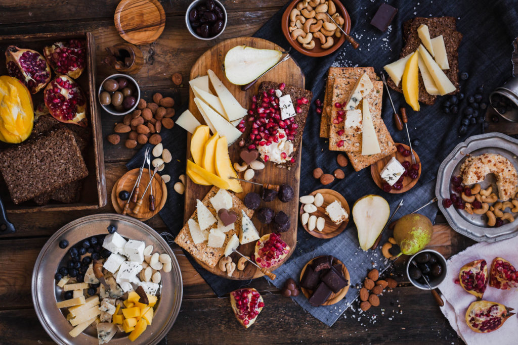 Cheese board, Photo Credit: casanisaphoto (iStock).