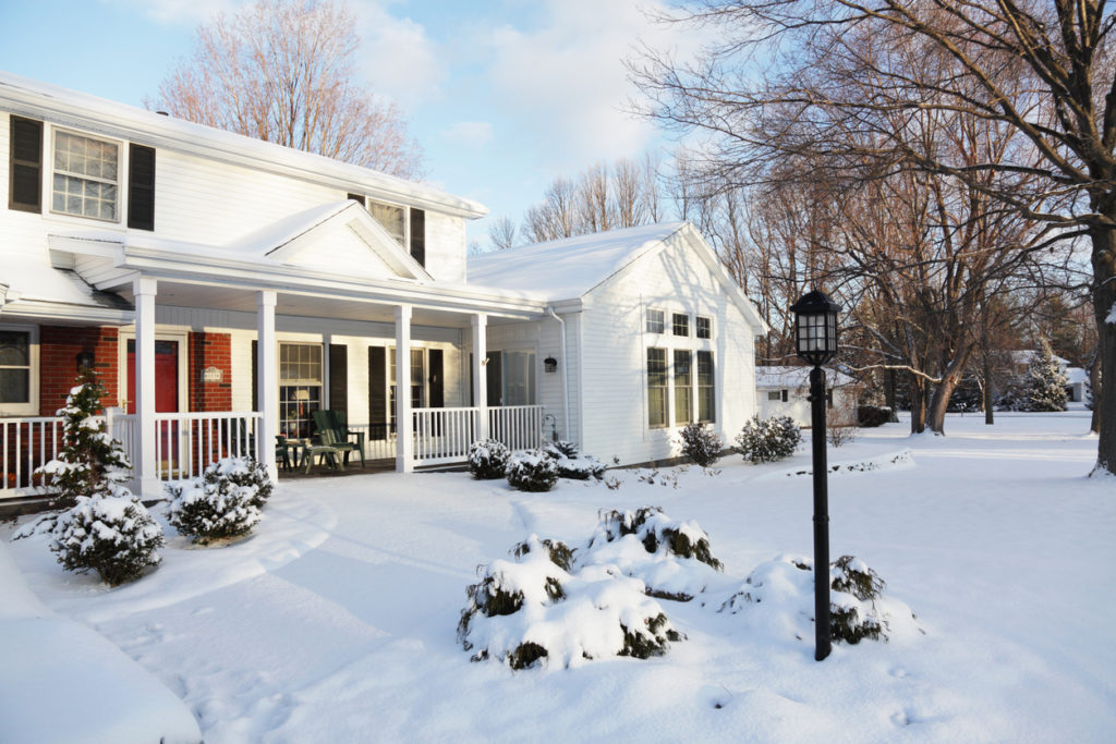 Winter Home, Photo Credit: Willowpix (iStock).