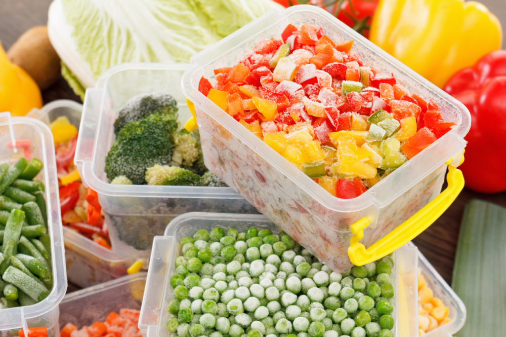 Frozen Vegetables, Photo Credit: BravissimoS (iStock).