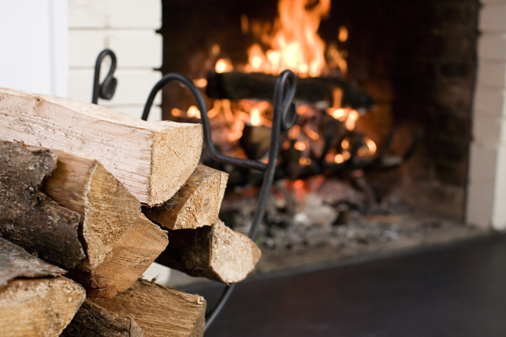 Fireplace, Photo Credit: Image Source (iStock).