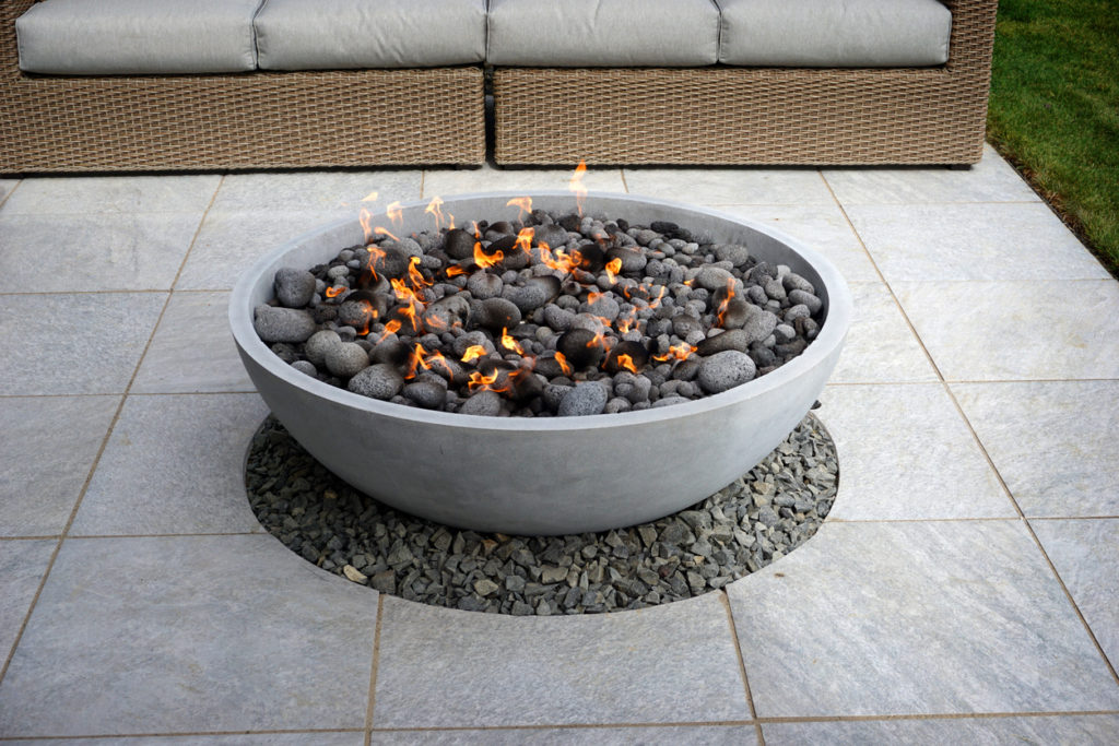 Outdoor Fire Pit, Photo Credit: smodj (iStock).