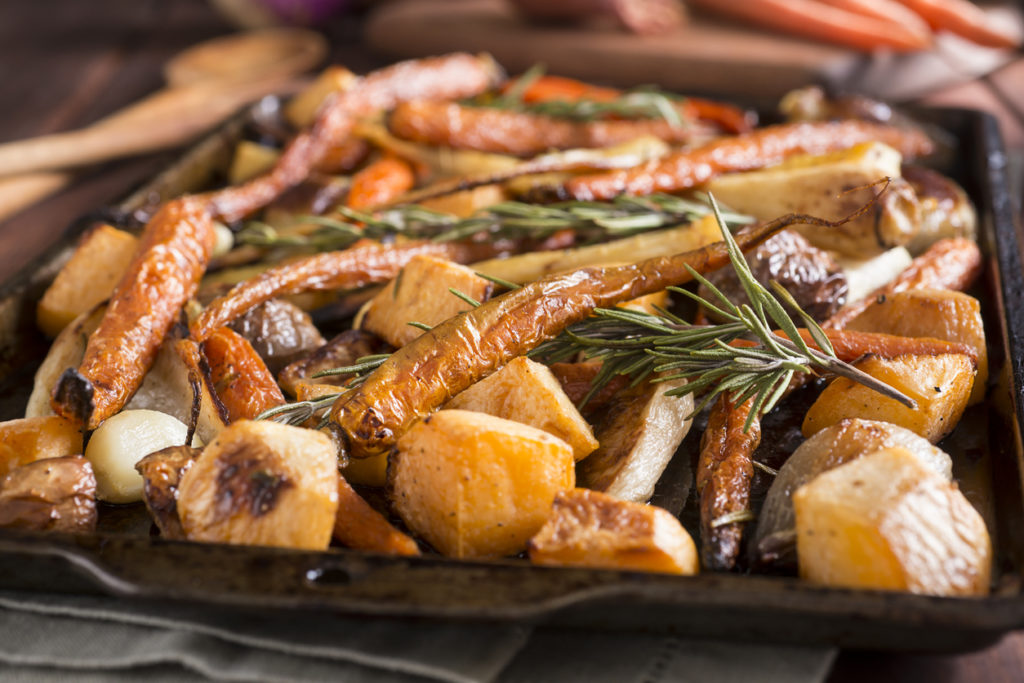 Sheet Pan Dinner, Photo Credit: rudisill (iStock).